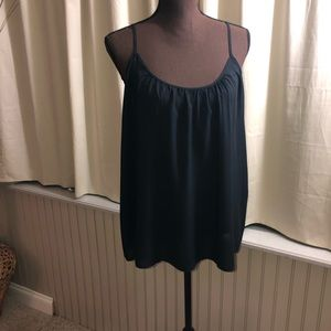 Gap Blouson Black Camisole
